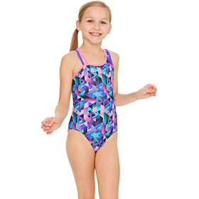 Zoggs Kitch Chaos Crossback Swimsuit Girls